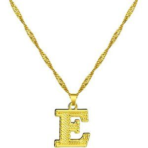Initial Necklace for Women - 18K Gold Plated